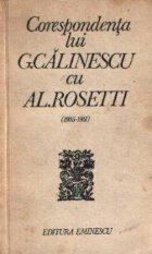 Corespondenta lui G. Calinescu cu Al. Rosetti (1935 - 1951)