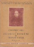 Cronicari si istorici romani din Transilvania