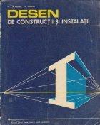 Desen de constructii si instalatii - Manual pentru licee, anul I, profil constructii