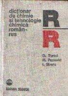 Dictionar chimie tehnologie chimica roman
