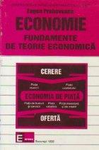 ECONOMIE - FUNDAMENTE DE TEORIE ECONOMICA