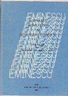 Eminescu: sens, timp si devenire istorica