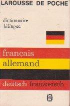 Francais-Allemand Allemand-francais, dictionnaire bilingue
