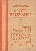 Gazeta matematica 7/1985