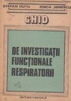 Ghid investigatii functionale respiratorii