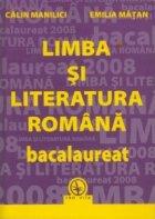 Limba si literatura romana - bacalaureat