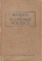 Manual de economie politica