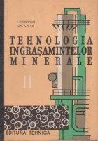 Tehnologia ingrasamintelor minerale, Volumul al II-lea