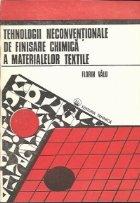 Tehnologii neconventionale de finisare chimica a materialelor textile