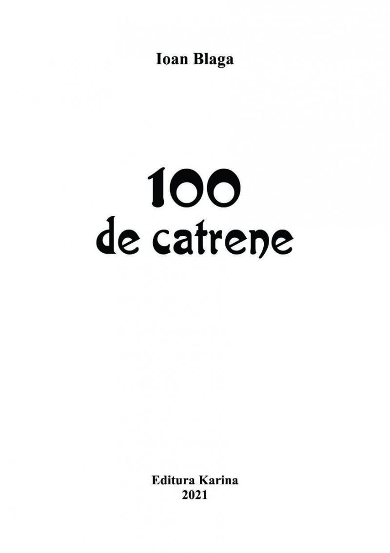 100 de catrene