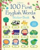 100 First English words sticker
