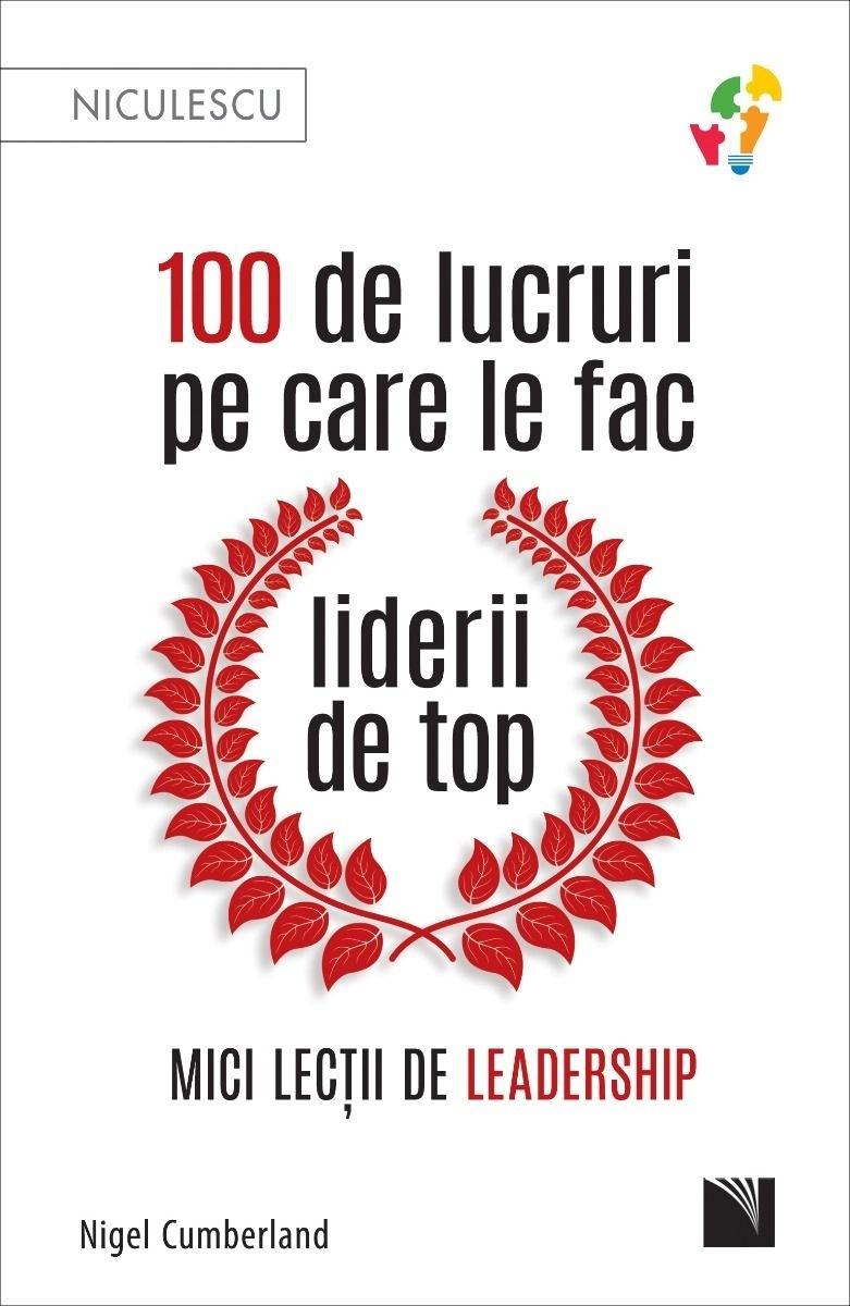 100 de lucruri pe care le fac liderii de top
