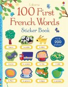 100 First French words sticker