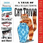 2020 a Year of Cat Trivia Colour Page-A-Day Calendar