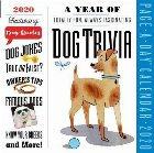 2020 a Year of Dog Trivia Colour Page-A-Day Calendar