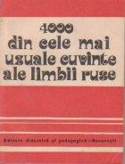 4000 din cele mai uzuale cuvinte ale limbii ruse
