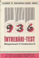 936 intrebari-test - Raspunsuri si comentarii (Din Basic and clinical sciences in anesthesiology)