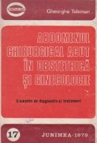 Abdomenul chirurgical acut obstetrica ginecologie