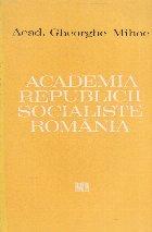 Academia Republicii Socialiste Romania
