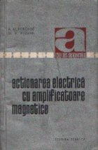 Actionarea electrica cu amplificatoare magnetice