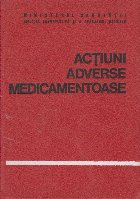 Actiuni adverse medicamentoase