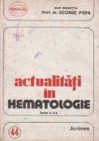 Actualitati hematologie