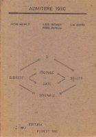 Admitere 1990 - Matematica. Fizica. Chimie