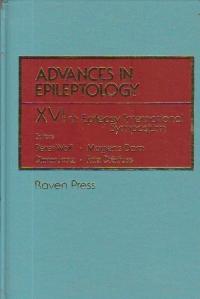 Advances in Epileptology - XVIth Epilepsy International Symposium
