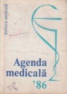 Agenda medicala 1986
