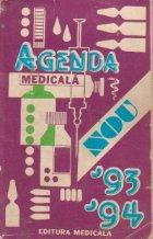 Agenda medicala 1993-1994