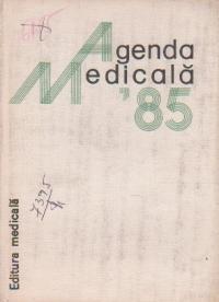 Agenda medicala 1985
