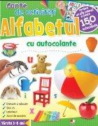 Alfabetul. Carte de activități cu autocolante