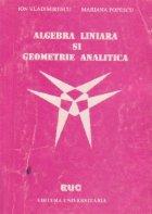 Algebra liniara geometrie analitica Teorie