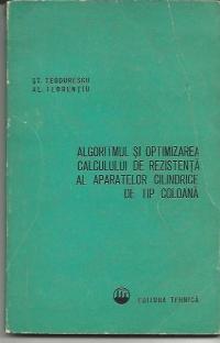 Algoritmul si optimizarea calculului de rezistenta al aparatelor cilindrice de tip coloana