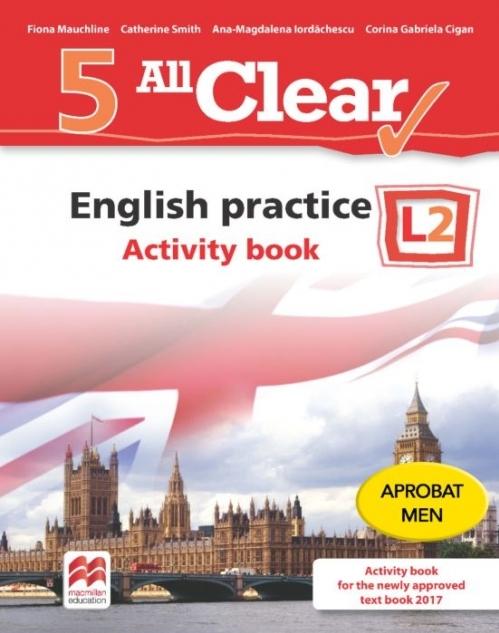 All Clear. English practice. Activity book. L 2. Lectia de engleza (clasa a V-a)