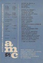 AMC 54 - Infotec 86, IPA 87. Multirom. Sistemul de operare U. Terminalul DAF 2020. Roboti industriali