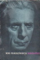 Amintiri - Ion Manolescu