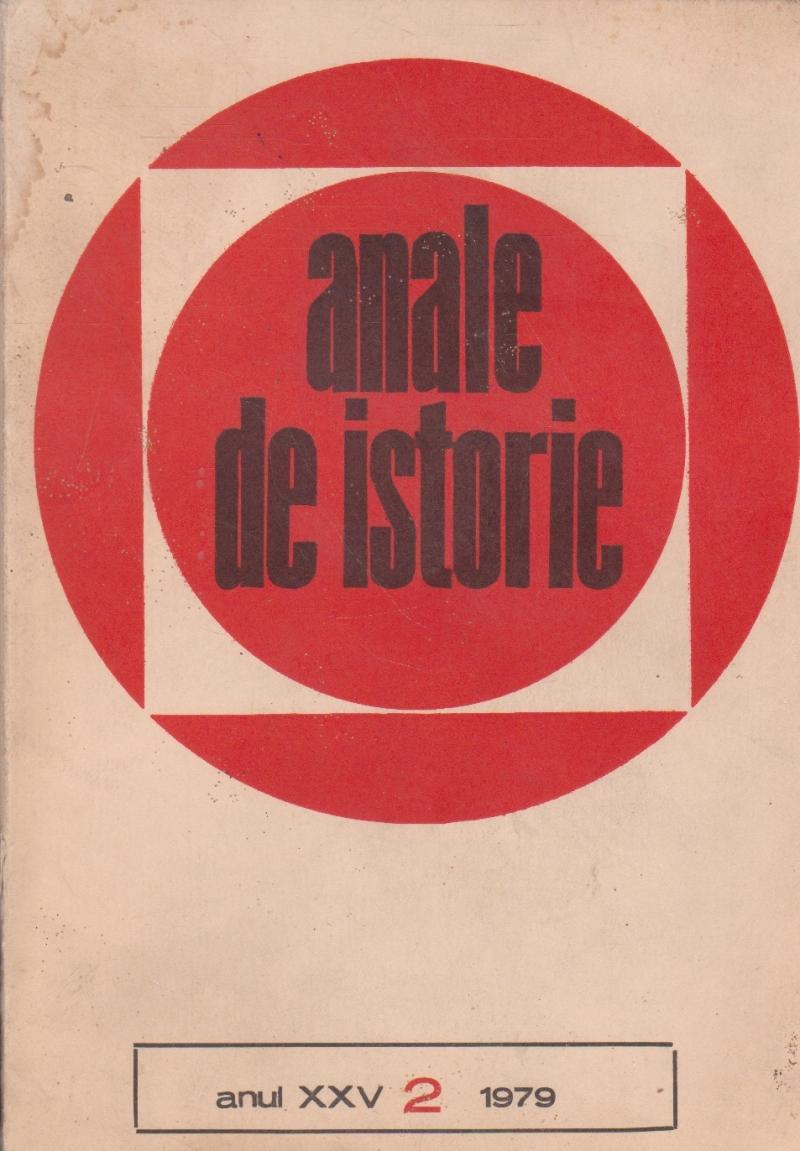 Anale de istorie, Anul XXV, Nr. 2/1979