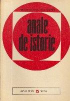 Anale de istorie, Anul XXI, Nr.5/1975