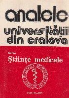 Analele Universitatii din Craiova - Seria Stiinte Medicale, Vol. II-1977