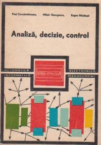 Analiza, Decizie, Control