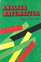 Analiza matematica, Editia a V-a (M. M. Rosculet)