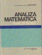 Analiza matematica - Functii reale