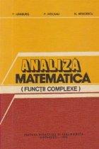 Analiza matematica - Functii complexe