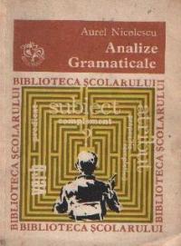 Analize gramaticale, Editia a III-a