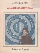 Analize gramaticale, Editia a IV-a