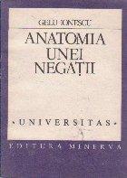 Anatomia unei negatii. Scrierile lui Eugen Ionescu in limba romana 1927-1940