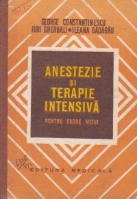 Anestezie si terapie intensiva (pentru cadre medii)