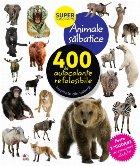 Animale sălbatice. 400 de autocolante refolosibile