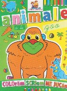 Animale zoo Carte colorat